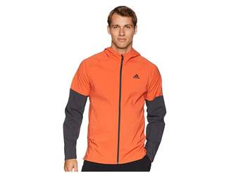 adidas Sport ID Full Zip Woven Hoodie Men's Sweatshirt