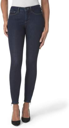 NYDJ Dylan Ankle Zipper Hem Skinny Jeans