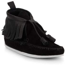 Rag & Bone Ghita Leather & Suede Moccasin Ankle Boots
