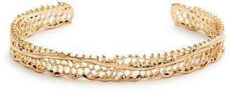 Aurelie Bidermann FINE JEWELLERY Lace yellow-gold cuff