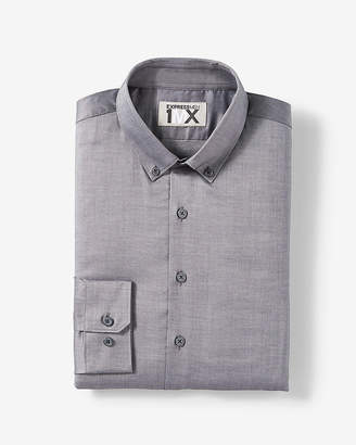 Express Slim Easy Care Button-Down 1Mx Shirt