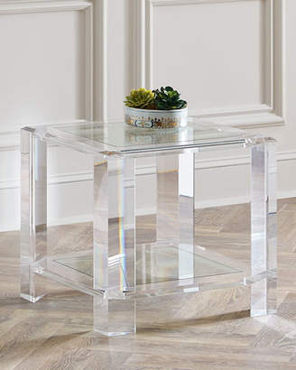 Interlude Home Langston Acrylic Side Table
