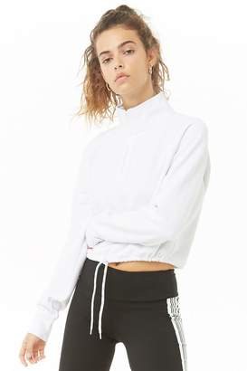 Forever 21 NYC Graphic Fleece Pullover