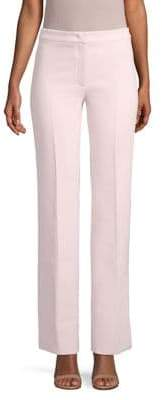 Agnona Wool Double Crepe Flared Pants