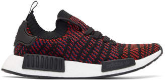 adidas Red and Black NMD-R1 STLT PK Boost Sneakers