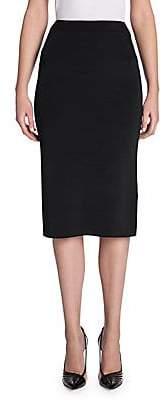 Giorgio Armani Women's Rib Knit Pencil Skirt