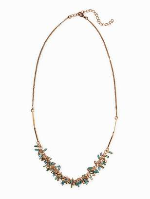 Old Navy Fringed-Bead Chain Necklace for Women