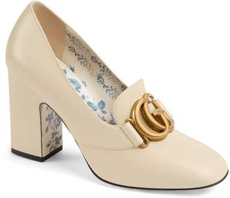 283a7f323c3 Gucci Block Heel Pumps - ShopStyle
