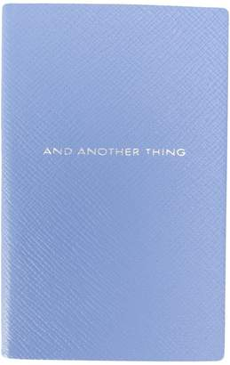 Smythson And Another Thing notebook