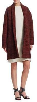 Etoile Isabel Marant Eabrie Wool-Blend Plaid jacket