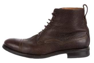 Paul Smith Leather Ankle Boots