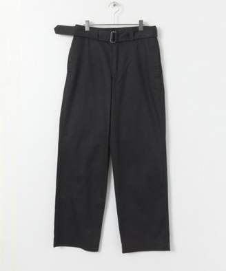 URBAN RESEARCH (アーバン リサーチ) - Urban Research Mhl. Cotton Drill Belted Pants