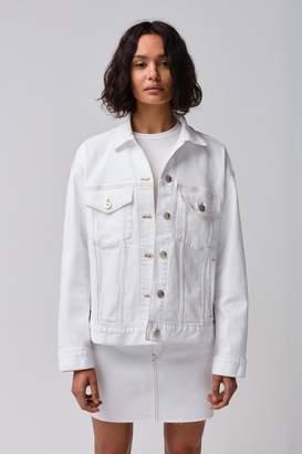 3x1 Oversized Classic Jacket | Winter White