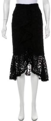 Alexis Lace Trumpet Skirt w/ Tags