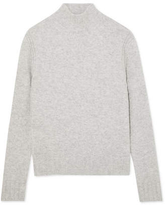 J.Crew Isabel Knitted Turtleneck Sweater - Gray