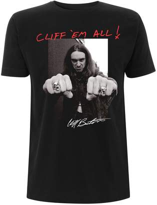 Burton Tee Shack Metallica Cliff Master of Puppets Official Tee T-Shirt Mens Unisex