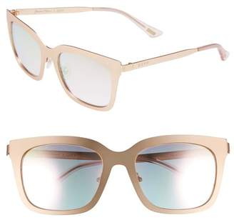 Cat Eye DIFF Eyewear x Lauren Akins Ella 53mm Sunglasses