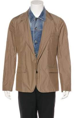 Dolce & Gabbana Denim Layered Blazer w/ Tags