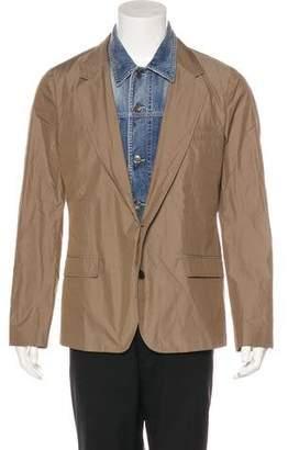 Dolce & Gabbana Denim Layered Blazer w/ Tags