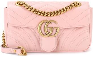 f5d02ccc6 Gucci GG Marmont Mini leather shoulder bag