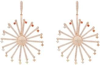 Rosegold Latelita - The Ferris Wheel Earring