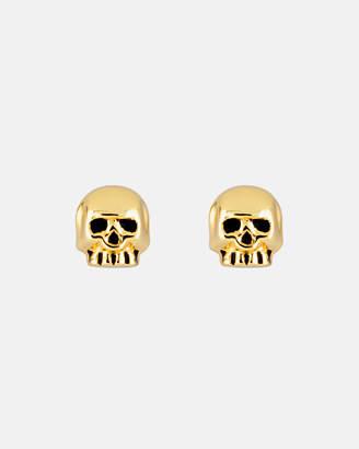 Eternal Skull Dainty Small Ear Studs