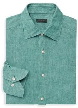 Saks Fifth Avenue COLLECTION Linen Dress Shirt