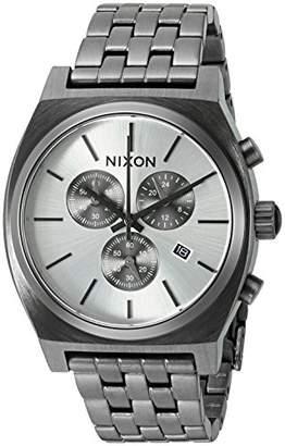Nixon Men's A972632-00 Time Teller Chrono Analog Display Quartz Grey Watch