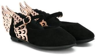 Sophia Webster Mini butterfly ballerina pumps