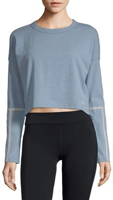 Under Armour Lighter Longer Crew Cropped Top