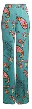 Etro Paisley Wide-Leg Pants