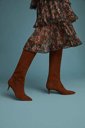 Steve Madden Kirby Kitten-Heeled Tall Boots