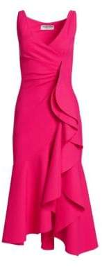 Chiara Boni Ayse Sleeveless Ruffle Dress