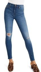 Madewell Curvy High Waist Crop Skinny Jeans