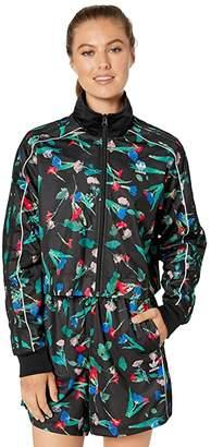 Best price on the market at italist | Adidas Originals Adidas Originals Adidas danielle Cathari Purple Jacket