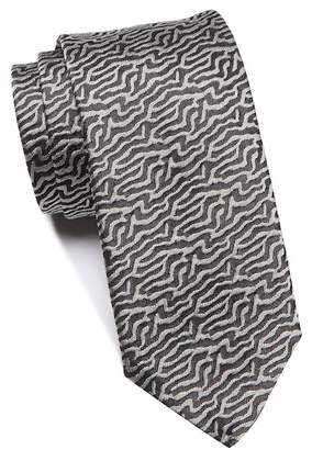 BOSS Silk Abstract Tie