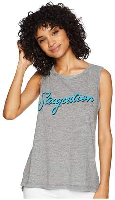 Original Retro Brand The Sleeveless Mocktwist Staycation Tank Top Women's Sleeveless