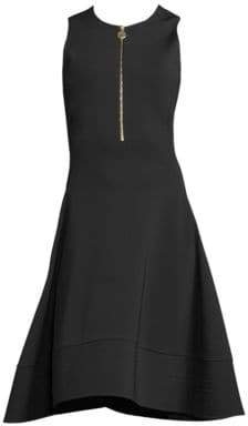 Donna Karan Sleeveless Fit-&-Flare Dress