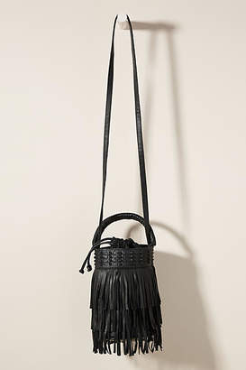 Cleobella Scarlet Fringed Bucket Bag