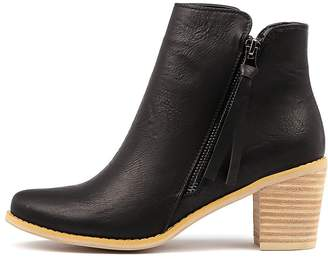 Ko fashion Rover-w Black Boots Womens Shoes Ankle Boots
