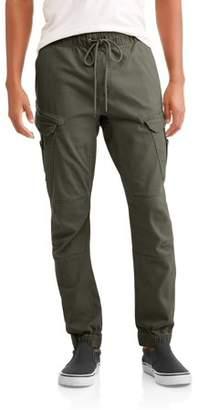 LAZER Men's Flex Twill Angled Pocket Cargo Jogger