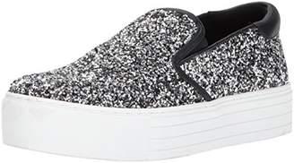 Kenneth Cole New York Women's Joanie Slip on Platform Glitter Fashion Sneaker