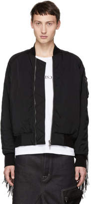 Julius Black Western Bomber Jacket