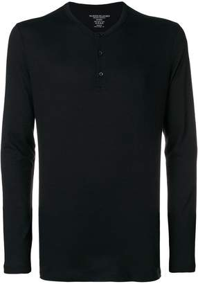 Majestic Filatures long-sleeve buttoned T-shirt