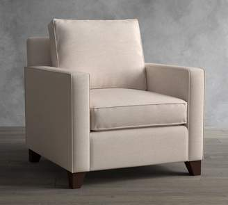 Pottery Barn Cameron Square Arm Upholstered Armchair