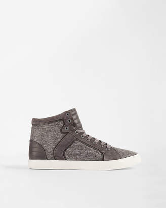 Express Textured High Top Sneakers