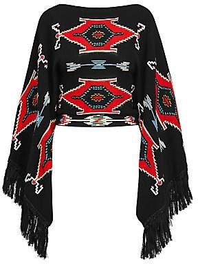 Ralph Lauren Women's Ganado Knit Fringe Sweater