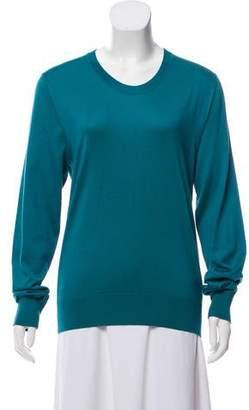 Dolce & Gabbana Silk Crew Neck Sweater