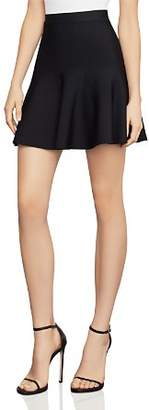 BCBGMAXAZRIA Ingrid A-Line Mini Skirt