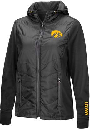 NCAA Unbranded Women's Iowa Hawkeyes Long-Sleeved Full Zip Jacket
